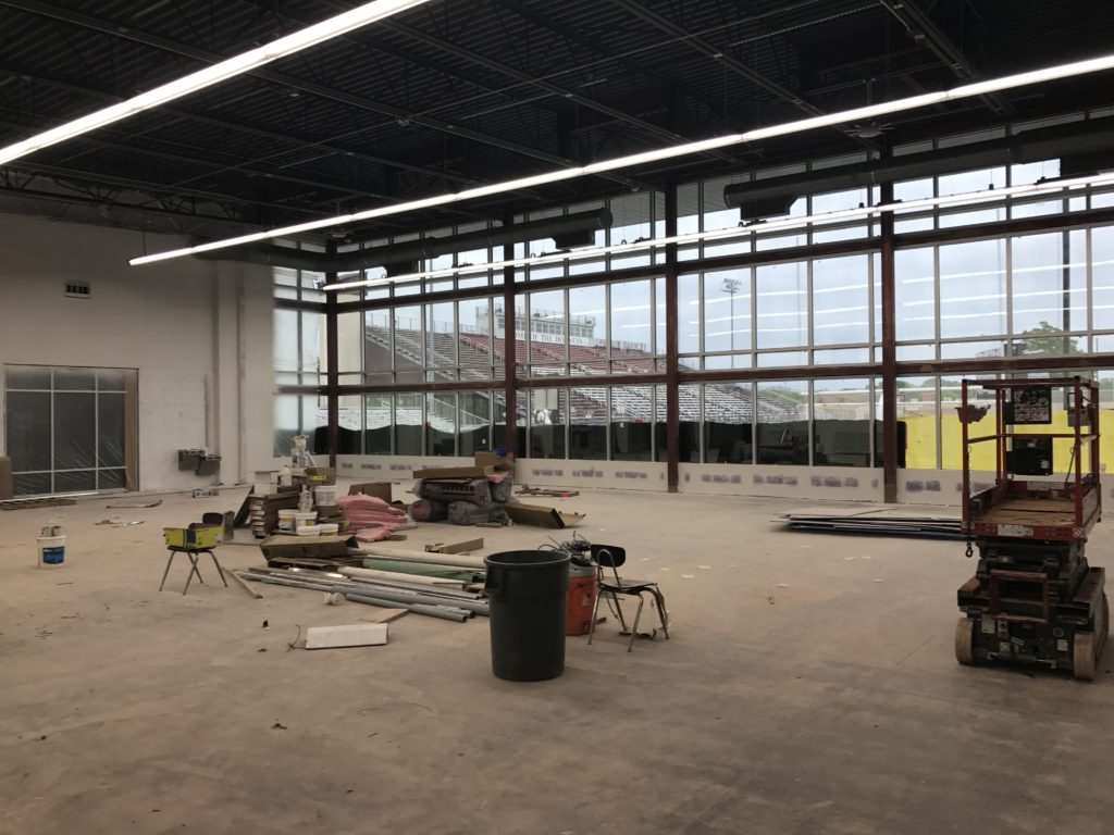 March 2017 Fieldhouse Construction Update